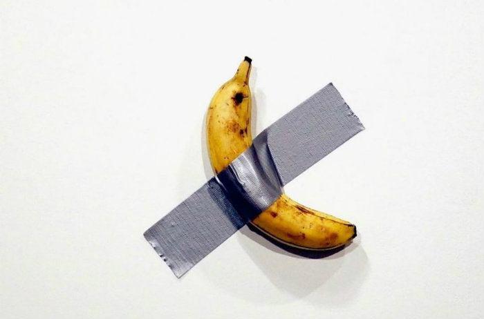 La banane à 120 000 dollars de Maurizio Cattelan