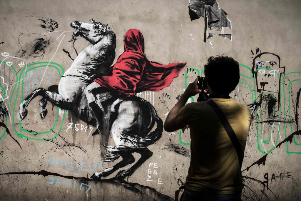 Photographie graffiti art