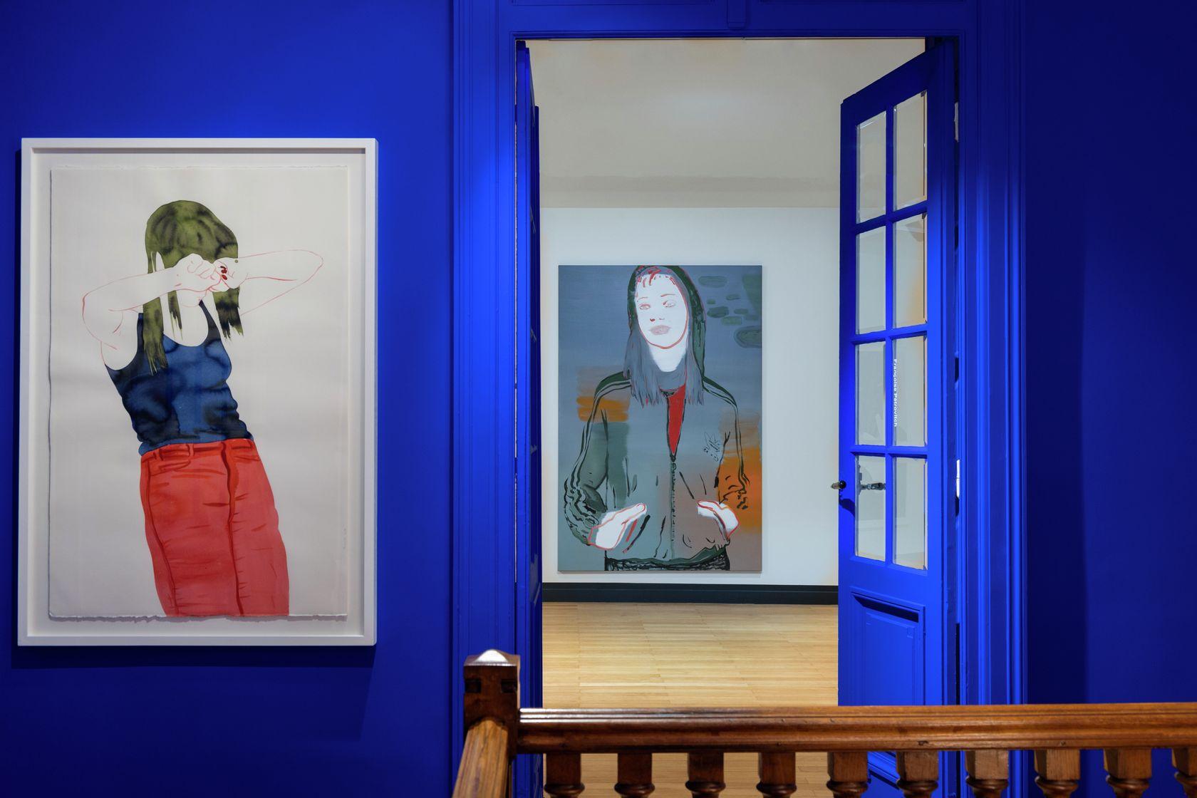 Art Bleu tableau