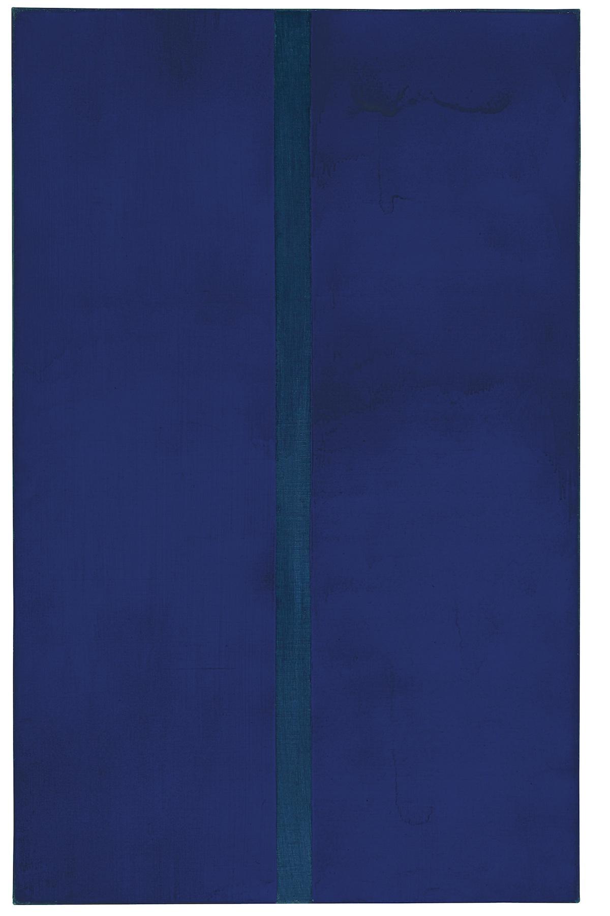 culture art peinture bleu