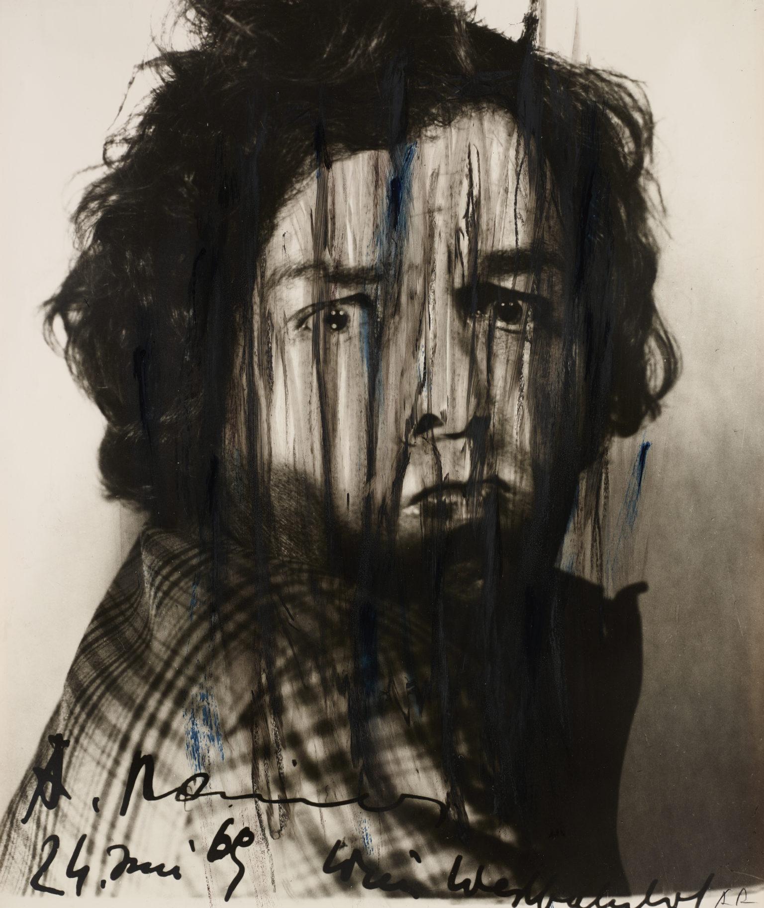 autoportrait lacéré