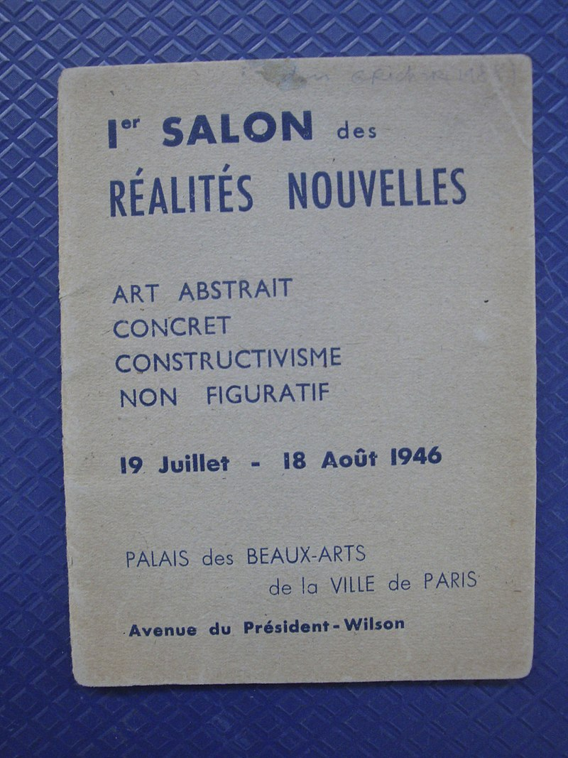 Affiche abstraction lyriques expositions