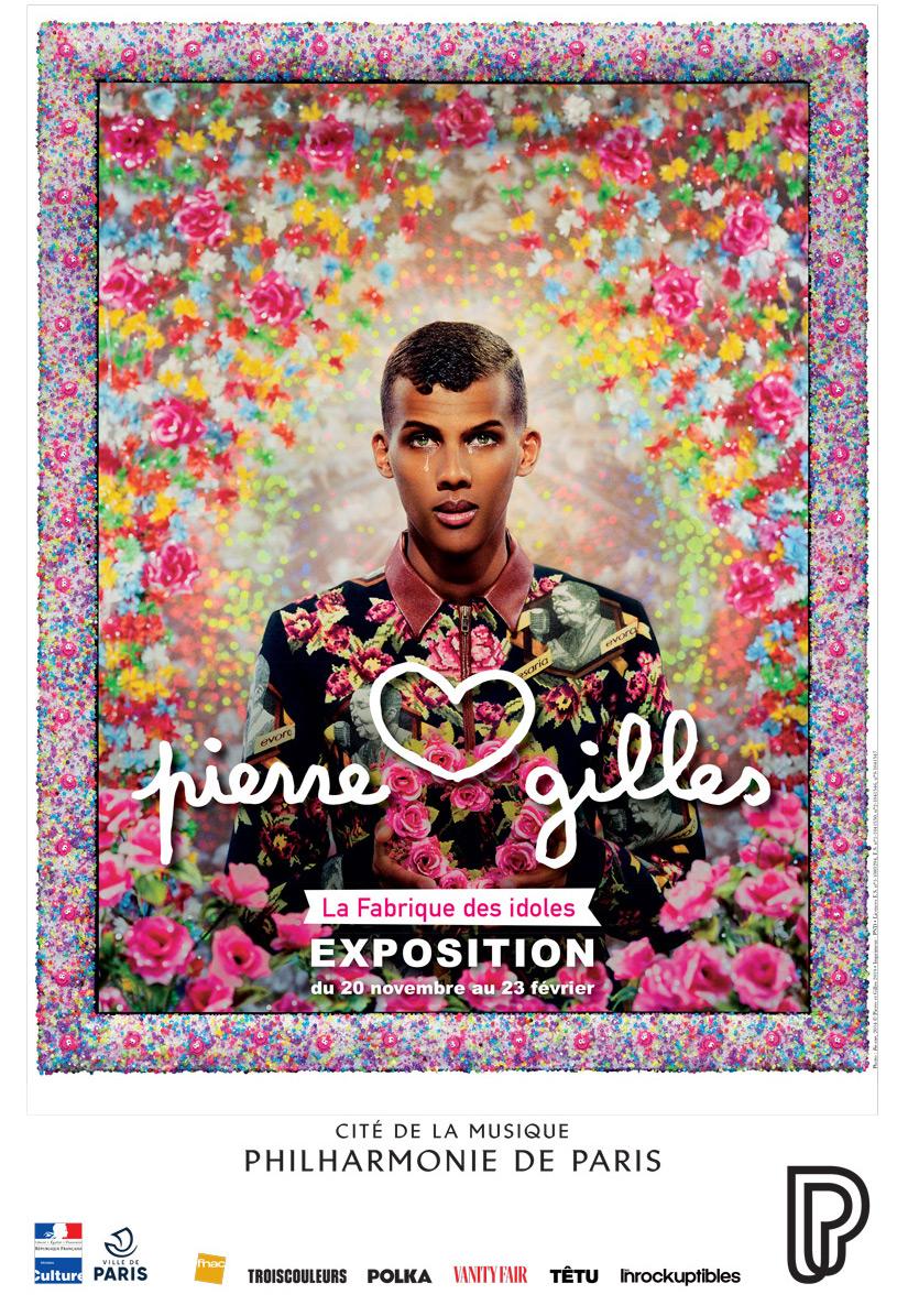 Affiche La Fabrique des Idoles - Pierre et Gilles - du 20 novembre 2019 au 23 février 2020