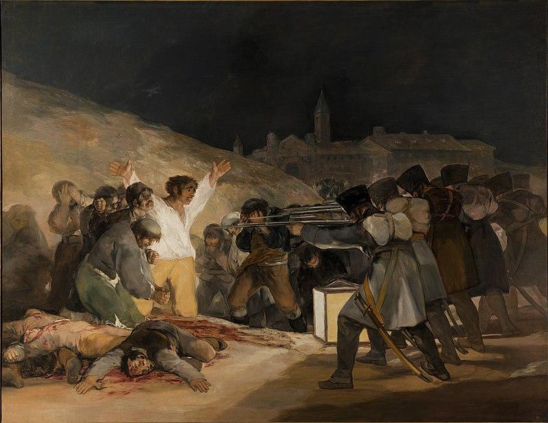 El tres de Mayo - Goya - 1814