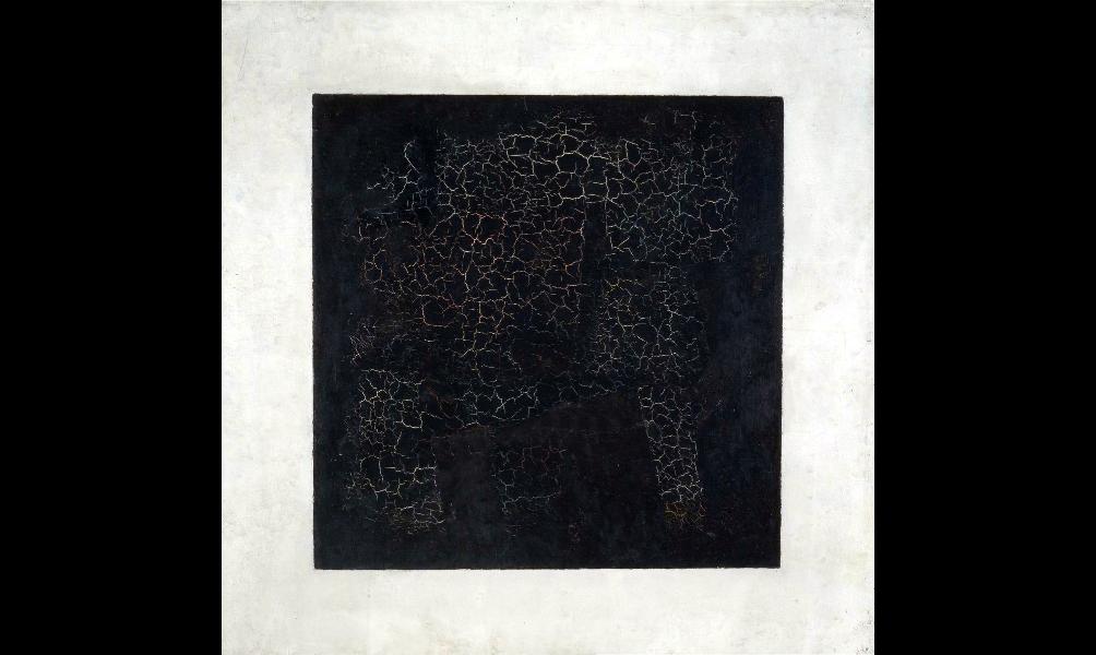 carré noir emblématique de l'abstraction
