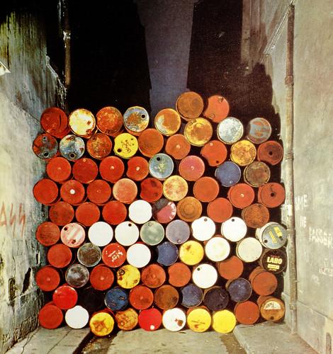 mur de baril