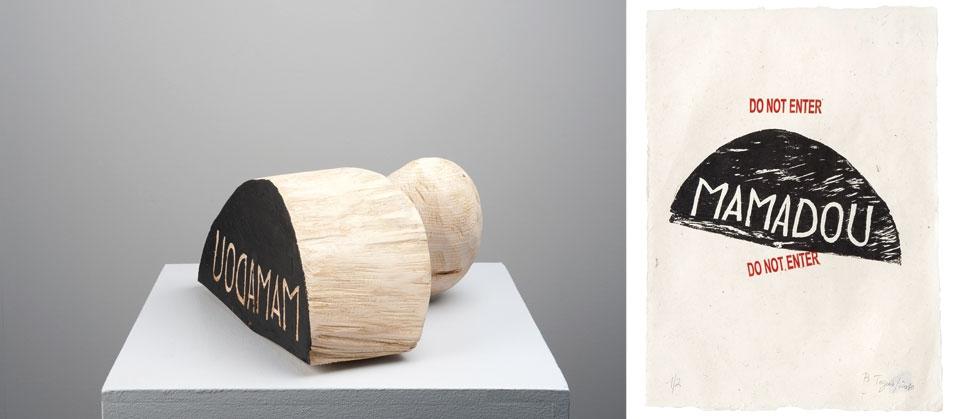 tampon la frontière dans l'art contemporain